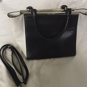 Black and White Michael Korea Handbag